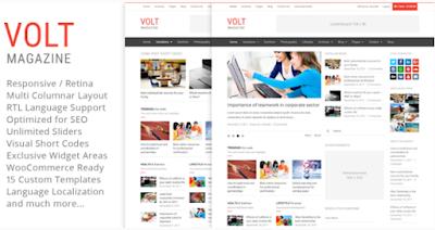 Download Volt v3.4 Magazine Editorial WordPress Theme Free , Volt - Magazine / Editorial WordPress Theme