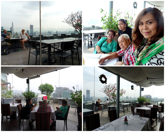 Lunch at the Top with a City View at Shri Restaurant & Lounge