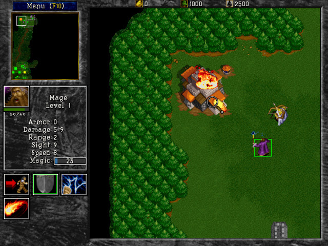 Warcraft 2 Mage Screenshot