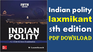 Indian polity by laxmikant 5th edition PDF Download