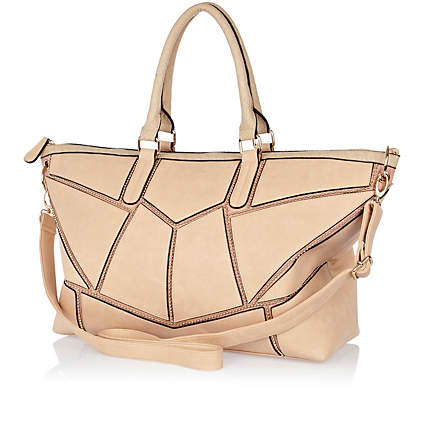 Cream coloured River Island Bag