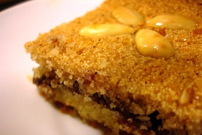 Date Paste Cake Recipe