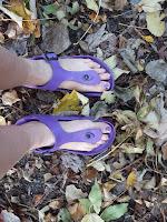 Herfst op slippers