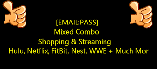 [EMAIL:PASS]  Mixed Combo  Shopping & Streaming | Hulu, Netflix, FitBit, Nest, WWE + Much Mor