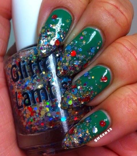Christmas In The Desert Glitter Lambs Nail Polish