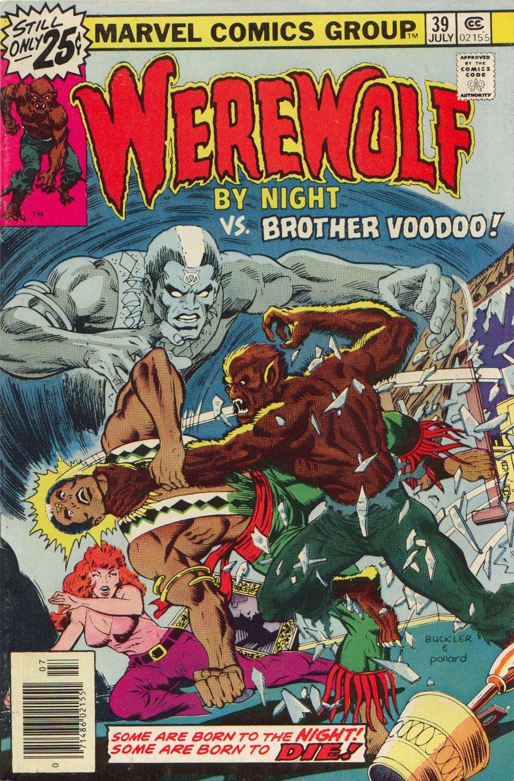 Werewolf by Night (1972) issue 39 - Page 1