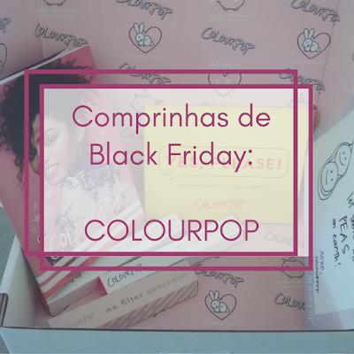 Capa: comprinhas na Colourpop