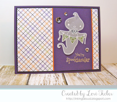 You're Spooktacular card-designed by Lori Tecler/Inking Aloud-stamps from SugarPea Designs