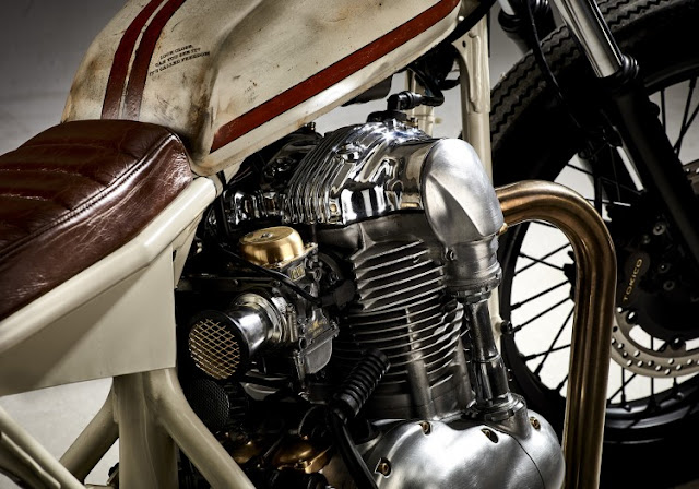 Kawasaki W650 By Kevil's Speed Shop Hell Kustom