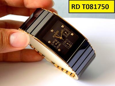Đồng hồ Rado dây đá ceramic vàng RD T081750