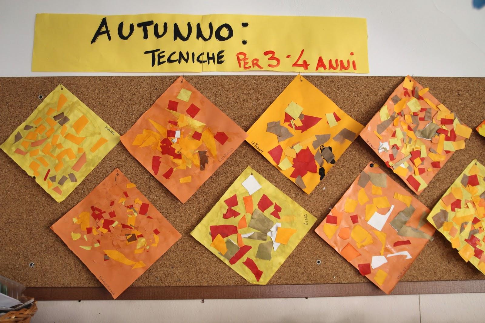 spesso Osservazione dei colori dell'autunno | Scuola dell'Infanzia Piaget  UE18