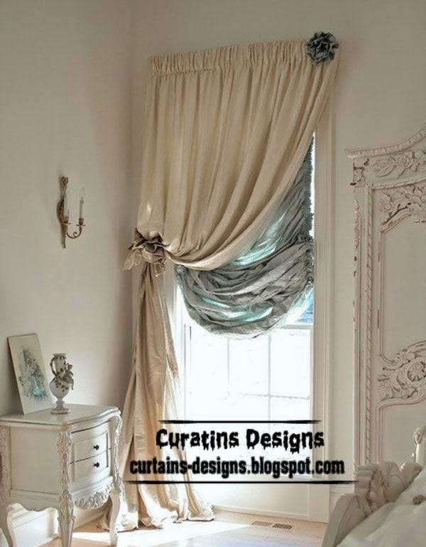 Luxury bedroom window coverings and window treatments ...