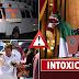 Acarreados al Zócalo, se reportaron como Intoxicados por comer tortas Y tacos.