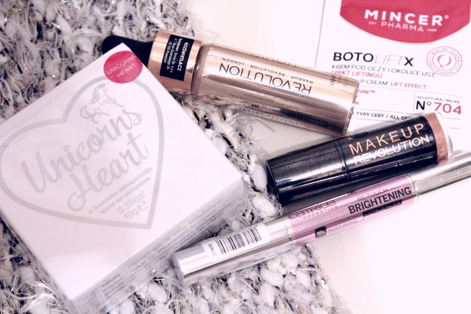 Nowości kosmetyków kolorowych / Makeup Revolution / Catrice