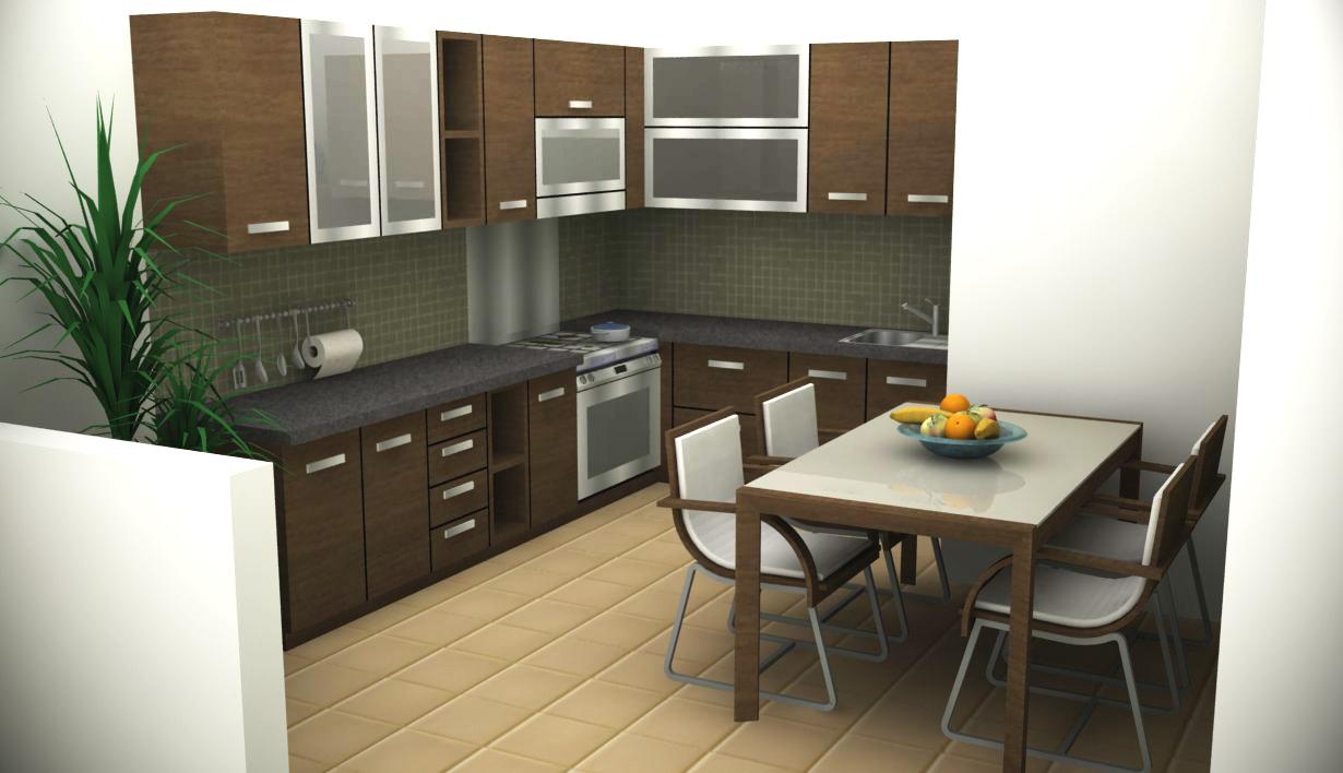 TukangKitecom Dapur Minimalis Bersih Juga Sehat