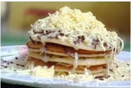 Resep Pancake Keju & Cara Membuat Pancake Keju