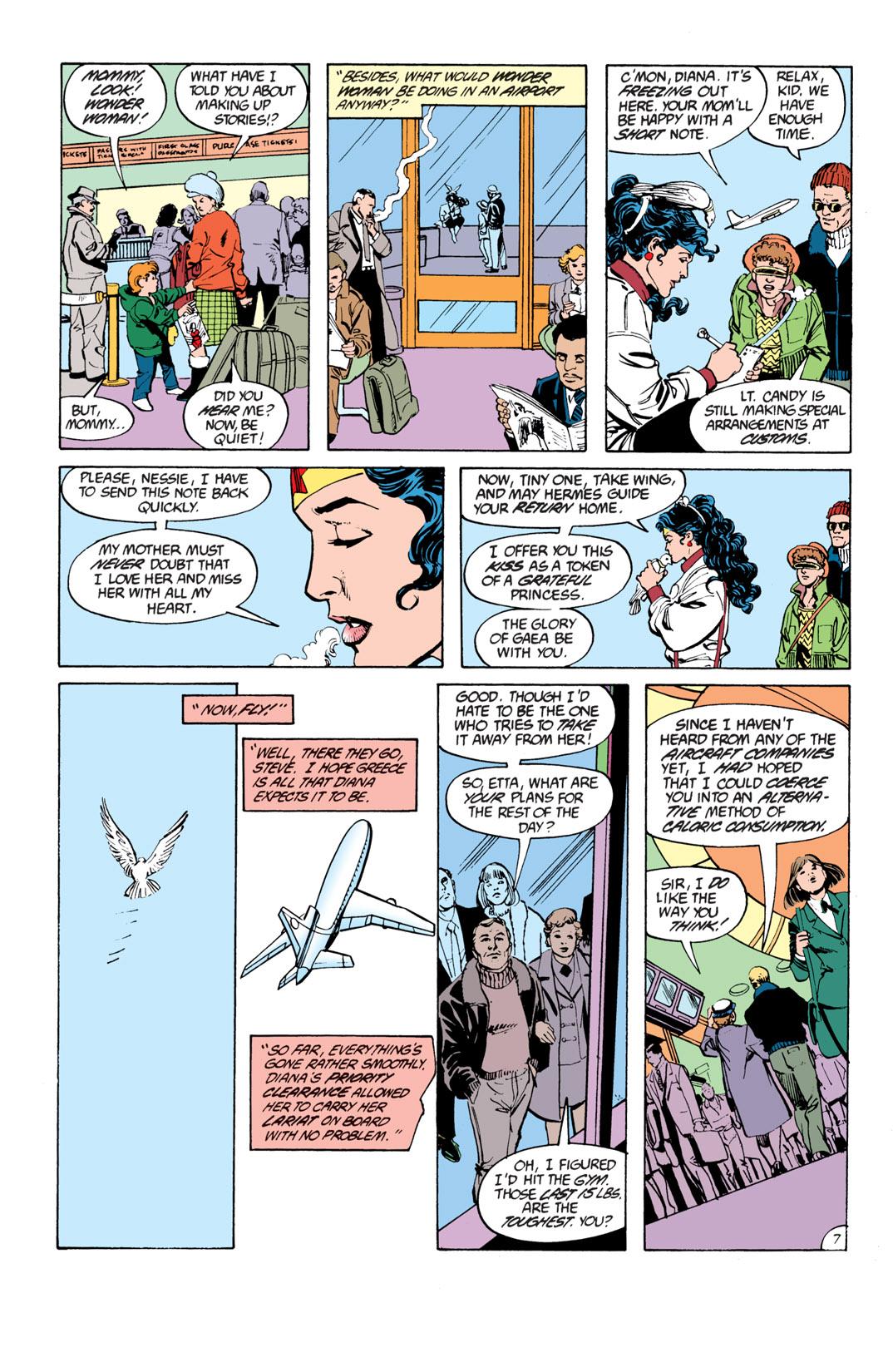 Read online Wonder Woman (1987) comic -  Issue #17 - 8