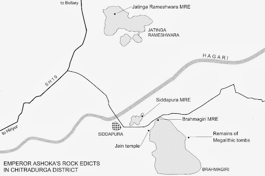 Storyof Kannadiga , kannada and Karnataka: Brahmagiri, Maski and other Ashokan Archeological Sites