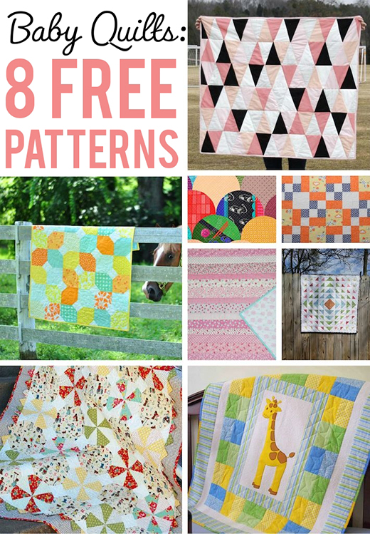 8 Free Baby Quilt Patterns