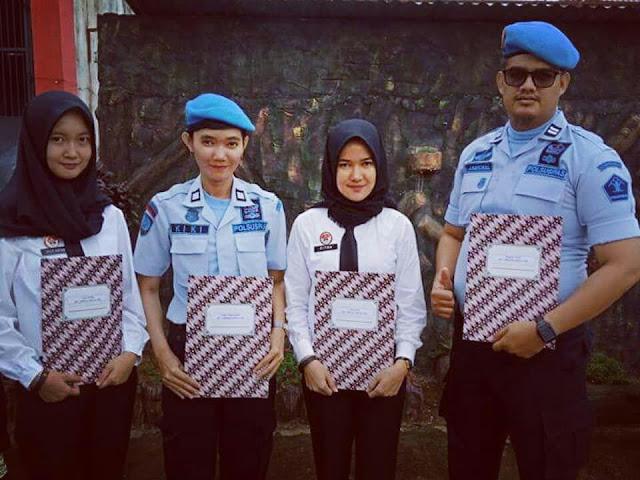 Empat Pegawai Rutan Prabumulih Raih Penghargaan