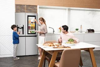 Tủ lạnh cao cấp Instaview Door-in-Door với công nghệ hoàn hảo