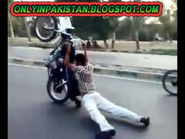 Funny pakistani motorcycle