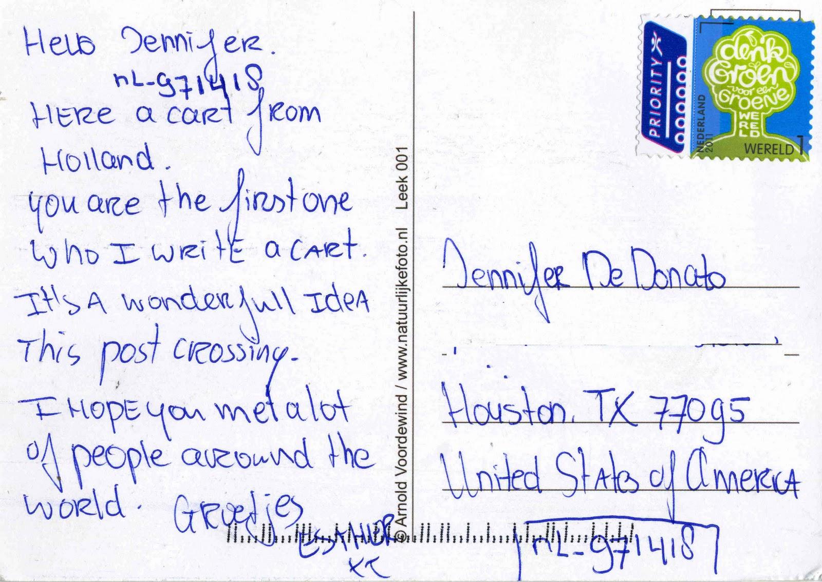 Что написать в открытке иностранцу, лет