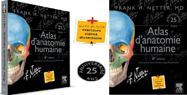 Télécharger Atlas d'anatomie humaine Frank Netter PDF gratuit