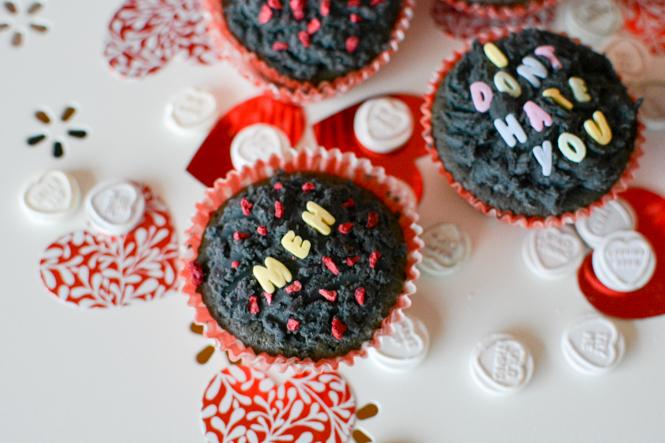 anti valentines day black cupcake recipe slogan apathetic