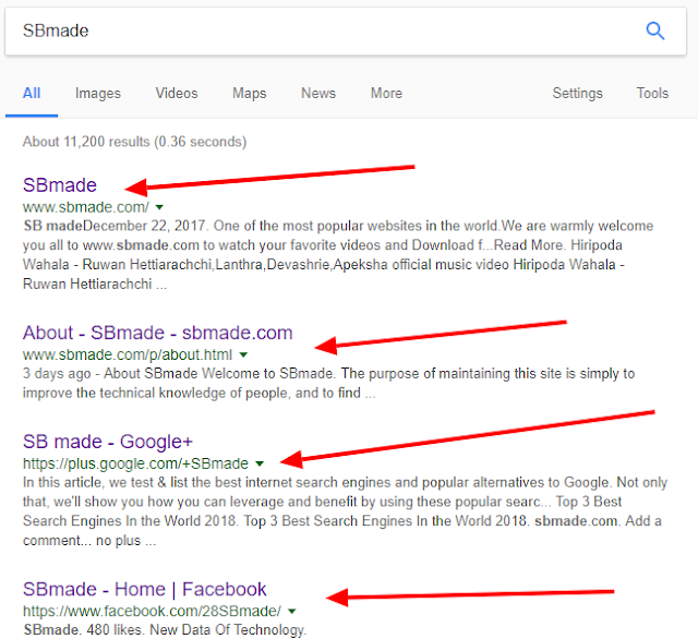 Enter the information in to Google Search Engine with Search Engine Spide