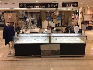 柏高島屋3階アクセサリー売場イベントスペース