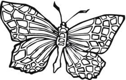 Monarch Butterfly Coloring Pages For Kids >> Disney ...