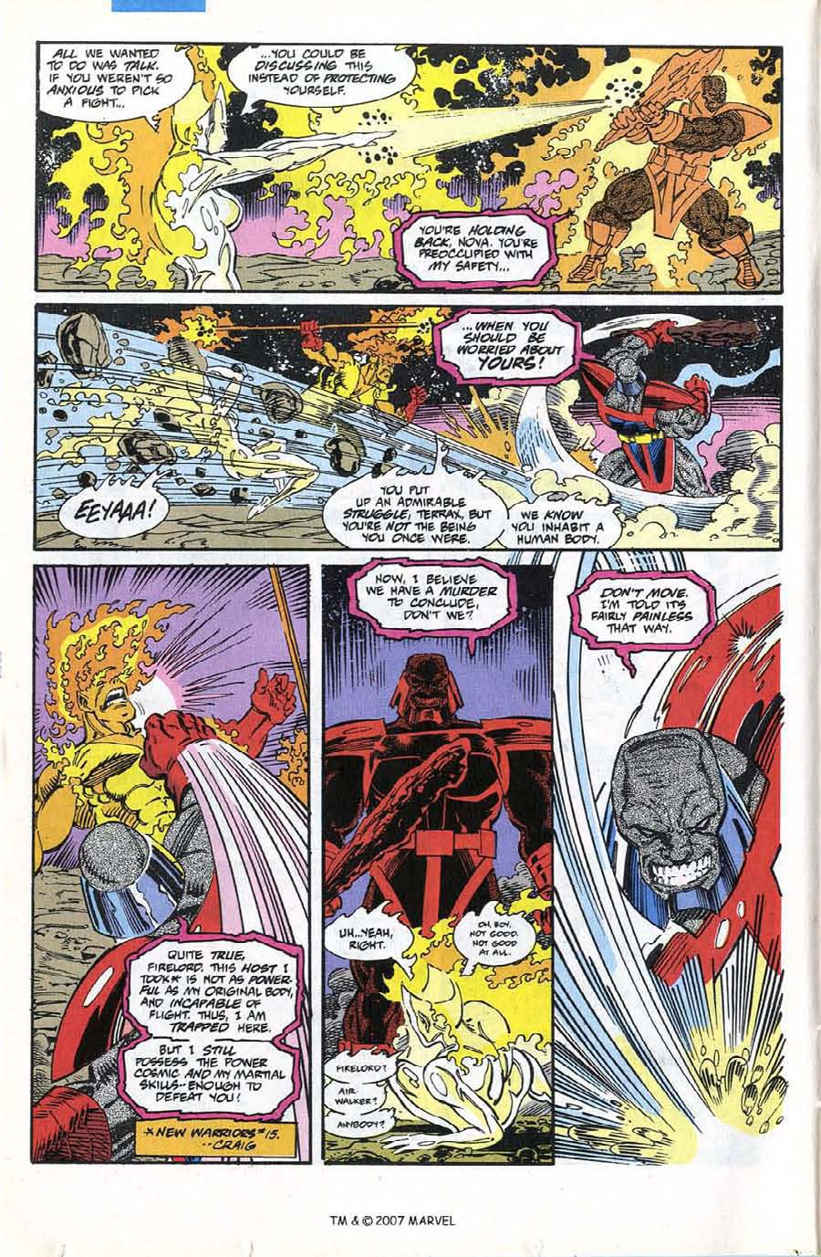 Read online Silver Surfer (1987) comic -  Issue #74 - 14