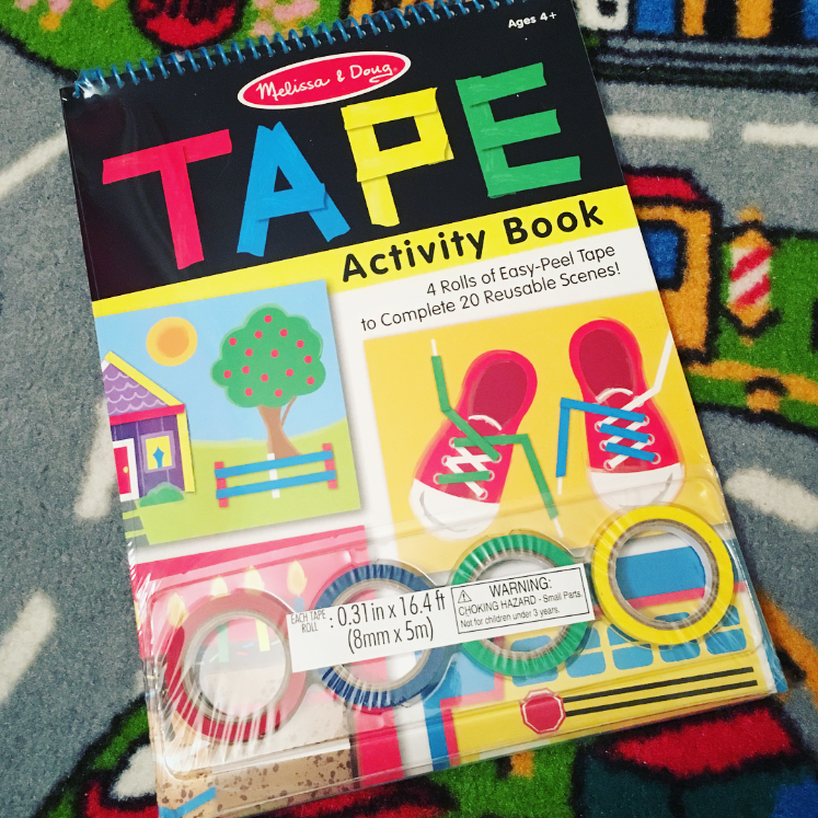 Melissa & Doug Tape Activity Book review