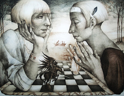 Chess Game, Marina Richterova