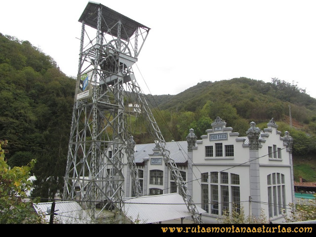 Ruta al San Justo o Cogollu: Castillete del Pozo San Luis en La Nueva