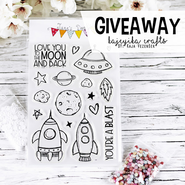 My friend Kaja has a Giveaway :o)