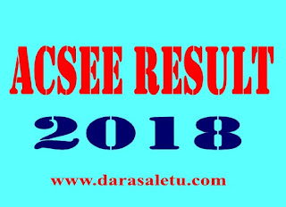 NATIONAL EXAMINATIONS COUNCIL OF TANZANIA (NECTA) ACSEE RESULTS ANNOUNCEMENT