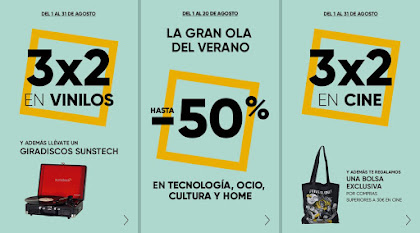 Top 5 ofertas La gran ola del verano de Fnac.es