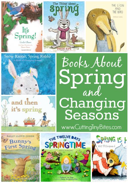 Books About Spring and Changing Seasons. Children love learning about spring- these books will help them learn all about how animals, plants, and the weather all change during springtime. Choices for toddlers, preschoolers, kindergarten, and elementary children.