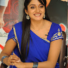 Vimala Raman in Blue Saree  Photo Gallery
