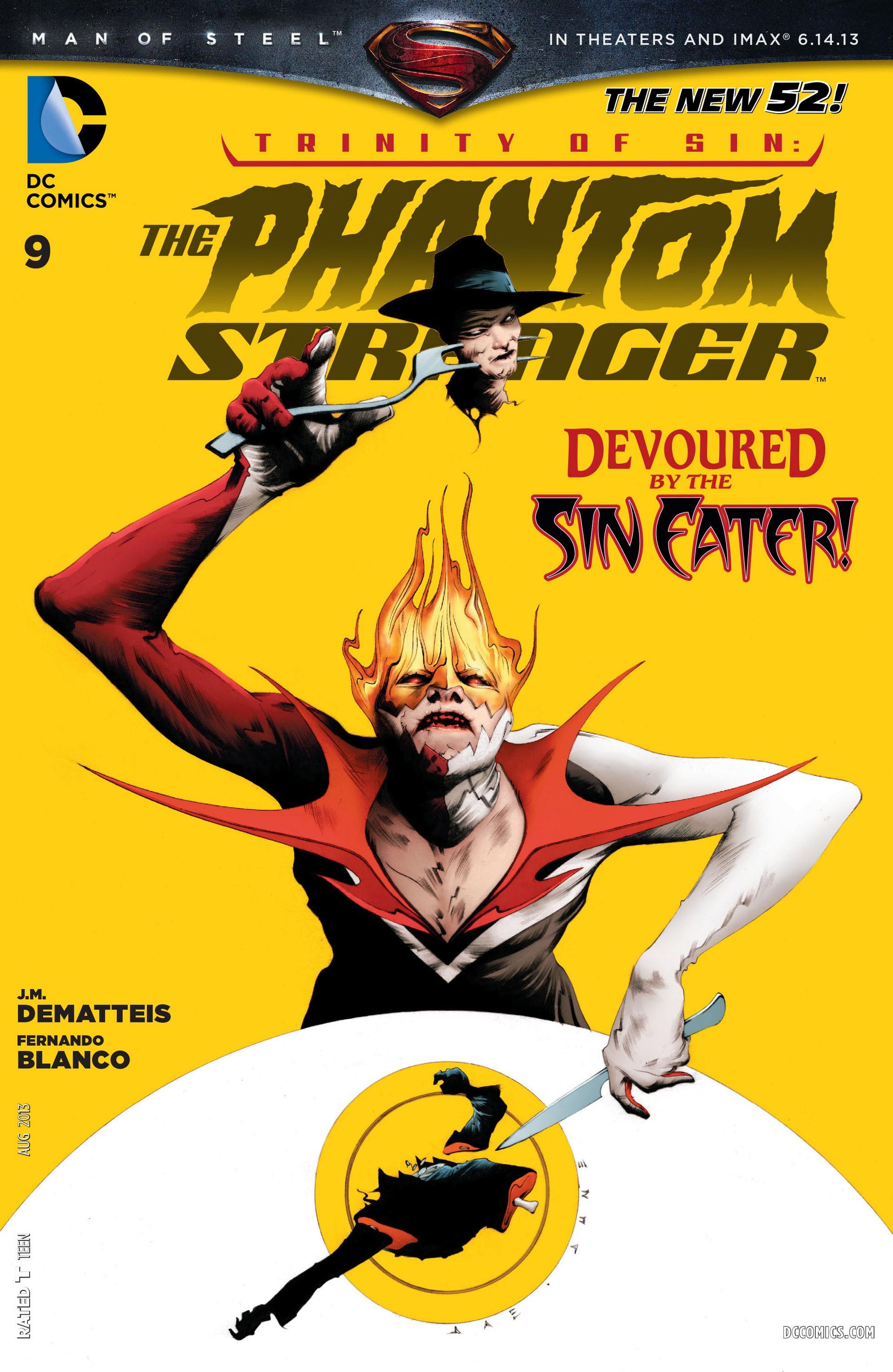 Read online Trinity of Sin: The Phantom Stranger comic -  Issue #9 - 1