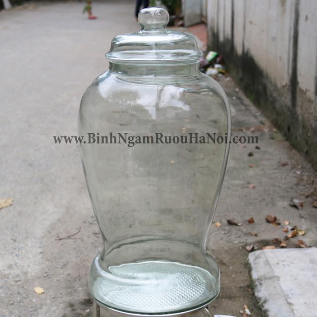 Binh ngam sam Thai Binh 40 lit