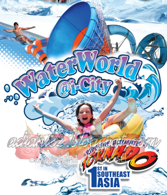 waterworld i-city shah alam