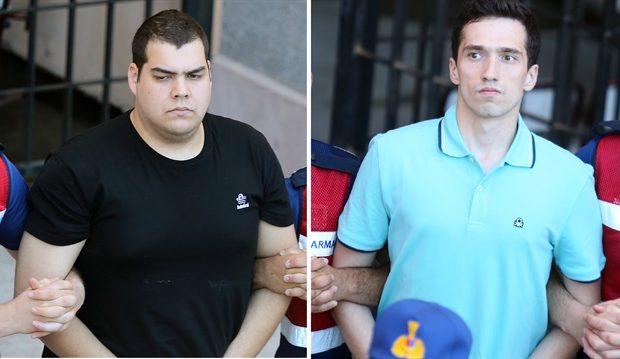 Στο Στρατοδικείο παραπέμπονται οι δύο έλληνες στρατιωτικοί Μητρετώδης-Κούκλατζης