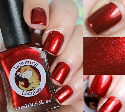 Lemming Lacquer Crack Whore Red | Damn It, I Had Something For This: Part Two