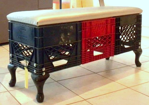 Pleasant Dishfunctional Designs Milk Crate Magic Neat Things You Onthecornerstone Fun Painted Chair Ideas Images Onthecornerstoneorg