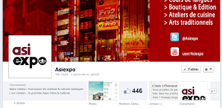 page facebook d'Asiexpo