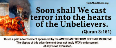 American Freedom Defense Initiative Advertisement