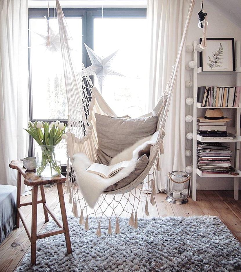 lovely deco fauteuils suspendus. Black Bedroom Furniture Sets. Home Design Ideas